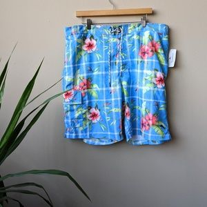 Tommy Bahama Relax Baja Cove Gardens Swim Trunk XL